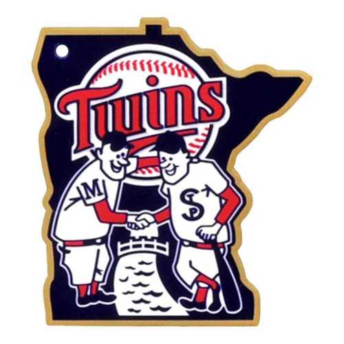 Authentic Street Signs Minnesota Twins Steel Magnet