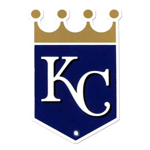 Authentic Street Signs Kansas City Royals Steel Magnet