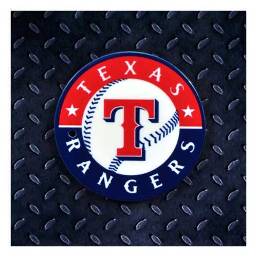 Authentic Street Signs Texas Rangers Steel Magnet