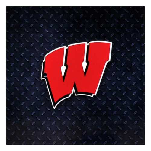 Authentic Street Signs Wisconsin Badgers Steel Magnet