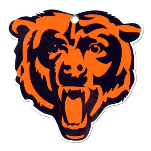 Authentic Street Signs Chicago Bears Steel Magnet
