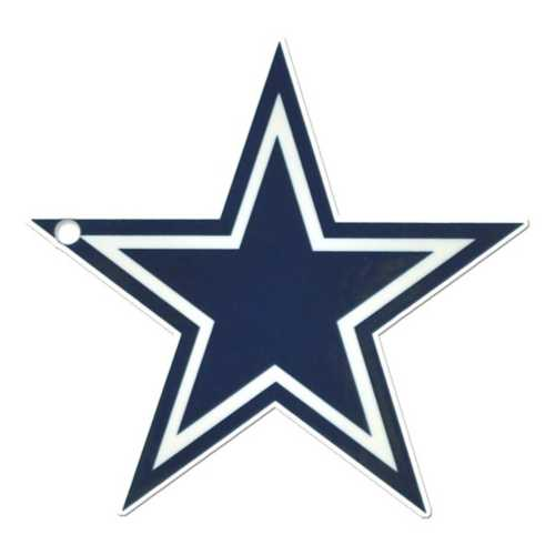 Authentic Street Signs Dallas Cowboys Steel Magnet
