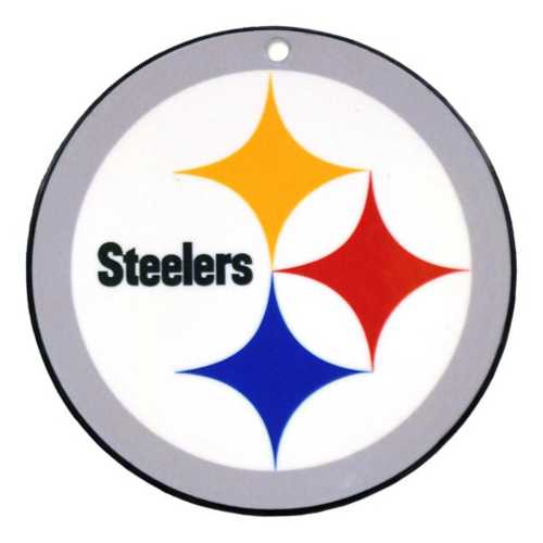 Authentic Street Signs Pittsburgh Steelers Steel Magnet