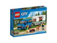 Lego City Van and Caravan