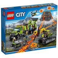 LEGO City Volcano Exploration Base Building Set