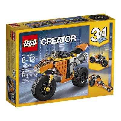 LEGO Creator Sunset Street Bike Building Kit