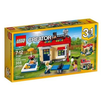 LEGO Creator Modular Poolside Holiday Building Set