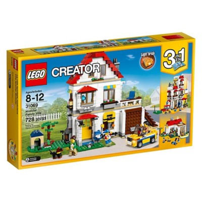 LEGO Creator Modular Family Villa Building Set' data-lgimg='{