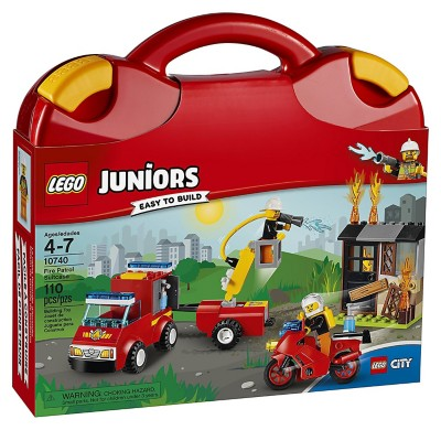 LEGO Juniors Fire Patrol Suitcase Building Kit