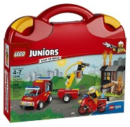 LEGO Juniors Fire Patrol Suitcase Building Kit