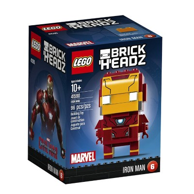LEGO 2017 BrickHeadz Iron Man Building Kit