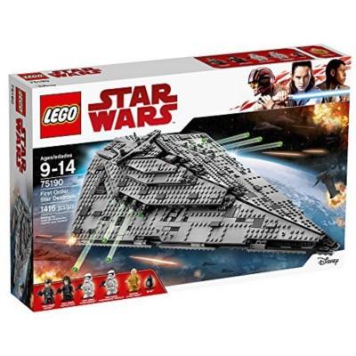 LEGO Star Wars VIII First Order Star Destroyer Building Set