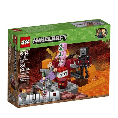 LEGO Minecraft The Nether Fight' data-lgimg='{