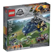 LEGO Jurassic World Blue's Helicopter Pursuit Building Kit