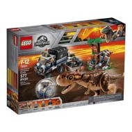 LEGO Jurassic World Carnotaurus Gyrosphere Escape Building Kit