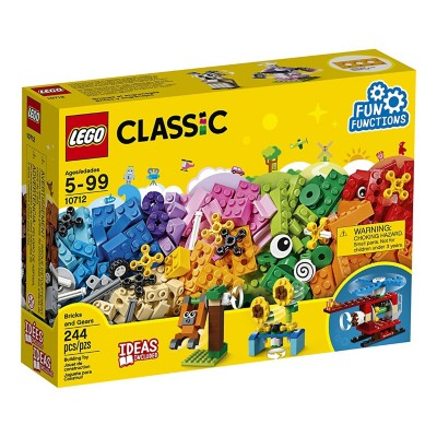 LEGO Classic Brick and Gears