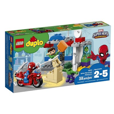 LEGO Duplo Spider-Man & Hulk Adventures' data-lgimg='{