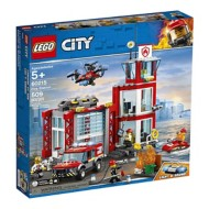 Lego City Fire Station Building Kit