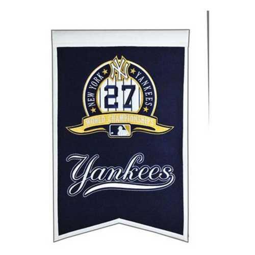 Winning Streak New York Yankees 27X Champions Banner