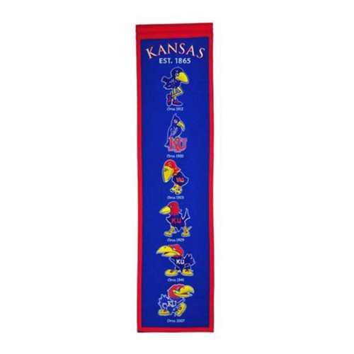 Winning Streak Kansas Jayhawks Heritage Banner