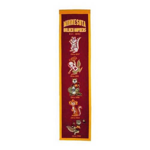 Winning Streak Minnesota Golden Gophers Heritage Banner
