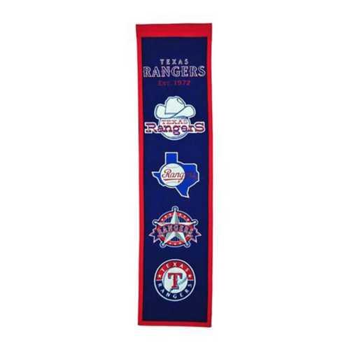 Winning Streak Texas Rangers Heritage Banner