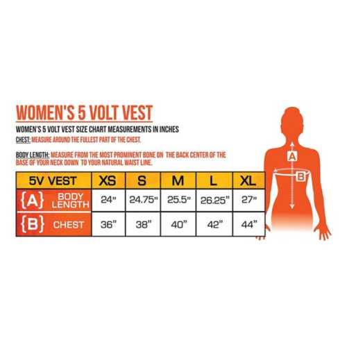 Women's ActionHeat 5V Battery Heated Vest