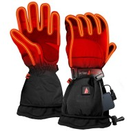 Men's ActionHeat 5V Battery Heated Snow Gloves