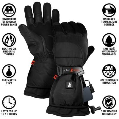 Women's ActionHeat 5V Battery Heated Snow Gloves