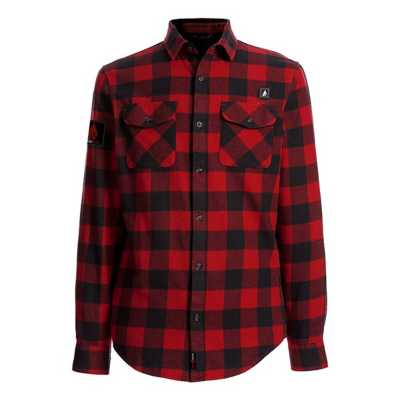 Men's ActionHeat 5V Battery Heated Flannel Long Sleeve Shirt