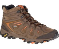 Men's Merrell Moab FST Leather Mid Waterproof Hiking Boots