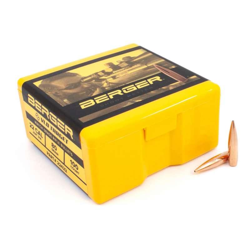 Berger (VLD) Target Rifle Bullets
