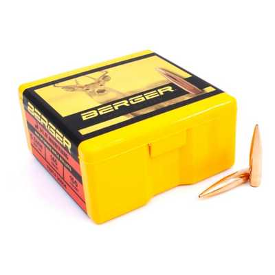 Berger (VLD) Hunting Match Grade Rifle Bullets