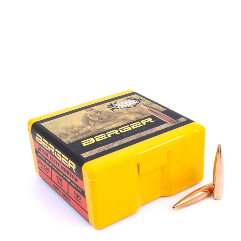 Berger Extreme Outer Limits (EOL) Elite Hunter Rifle Bullets