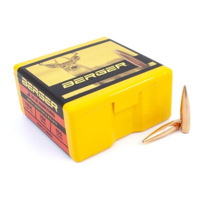 Berger Hunting 7mm 168g VLD Bullets 100 Pack