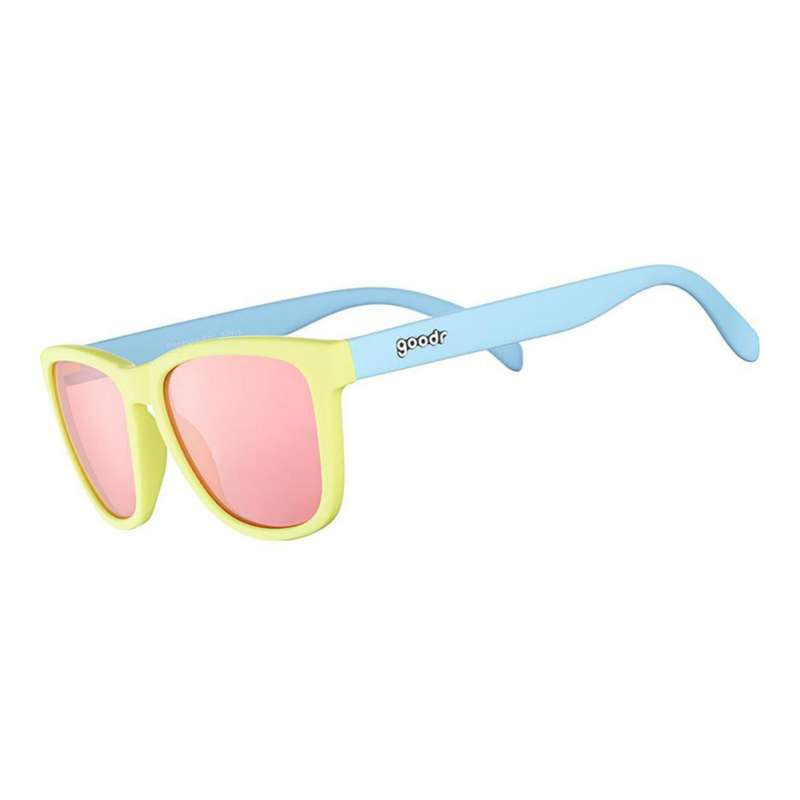 Goodr Pineapple Painkillers Polarized Sunglasses