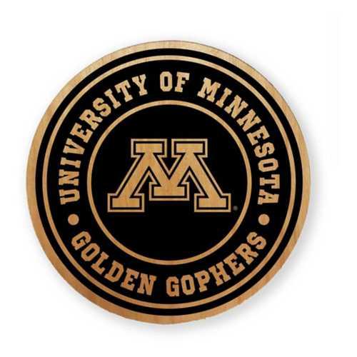 Timeless Etchings Minnesota Golden Gophers Alder Magnet
