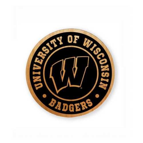 Timeless Etchings Wisconsin Badgers Alder Magnet
