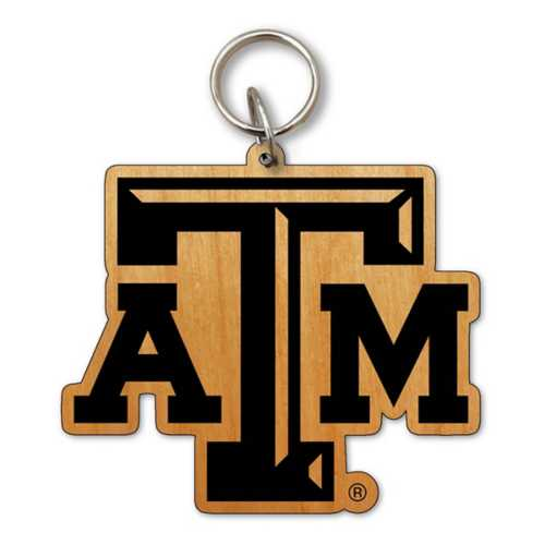 Timeless Etchings Texas A&M Aggies Alder Keychain