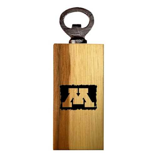 Timeless Etchings Minnesota Golden Gophers Mini Bottle Opener