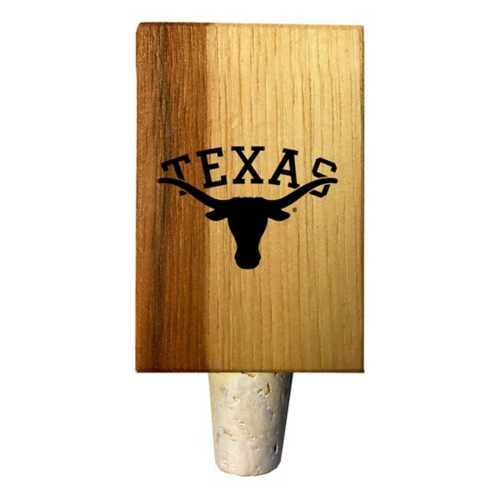 Timeless Etchings Texas Longhorns Mini Bottle Stop