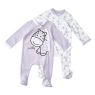 Infant Girls' Bunz Kidz Wildly Cute Sleep N Play Romper