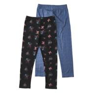 Preschool Girls' Bunz Kidz Floral 2 Pack Legging Set