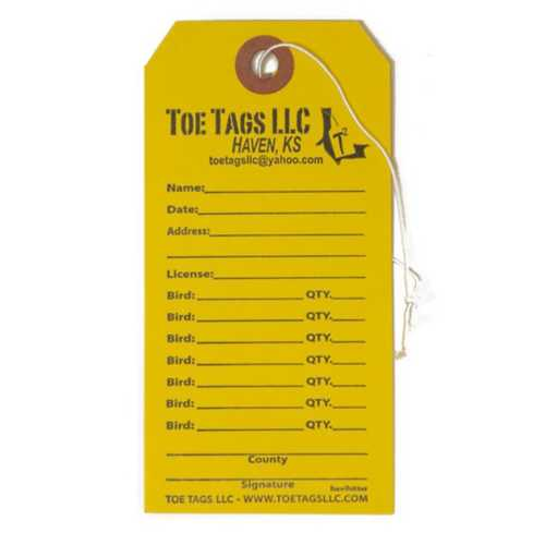Toe Tags HeviHitter Tag 50CT
