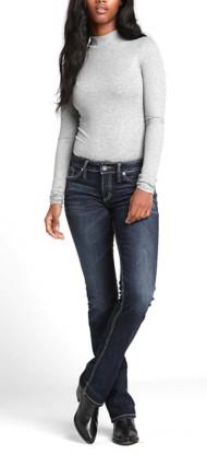 Women's Silver Jeans Elyse Mid-Rise Curvy Slim Bootcut Jean