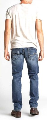 Men's Silver Jeans Hunter Athletic Fit Tapered Leg Jean