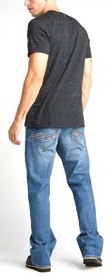 Men's Silver Jeans Zac Relaxed Fit Straight Leg Jean