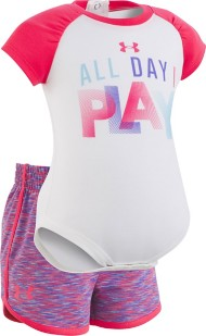 Infant Girls' Under Armour All Day I Play Set