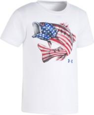 Toddler Boys' Under Armour Flag Bass T-Shirt