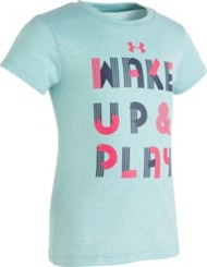 Toddler Girls' Under Armour Wake And Play T-Shirt